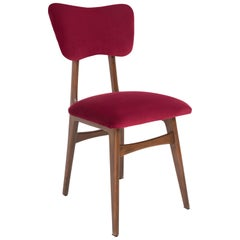 20th Century Burgundy Red Chair, 1960s