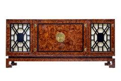 20th Century Burr Art Deco Style Sideboard