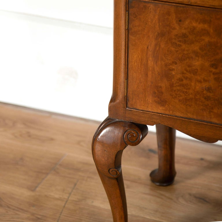 20th Century Burr Ash Bedside Tables For Sale 2