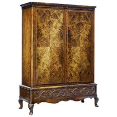 20th Century Burr Birch Cabinet by Bodafors