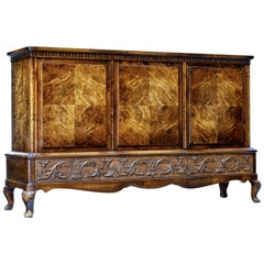 20th Century Burr Birch Sideboard by Bodafors