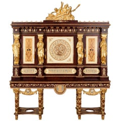 20th Century Cabinet Commode Marie Antoinette