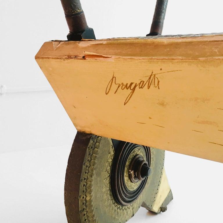 Copper In Stock in Los Angeles, 20th Century Carlo Bugatti Chair For Sale