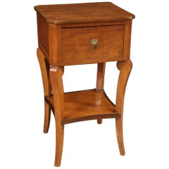 20th Century Carved Wood Italian Side Table, 1920