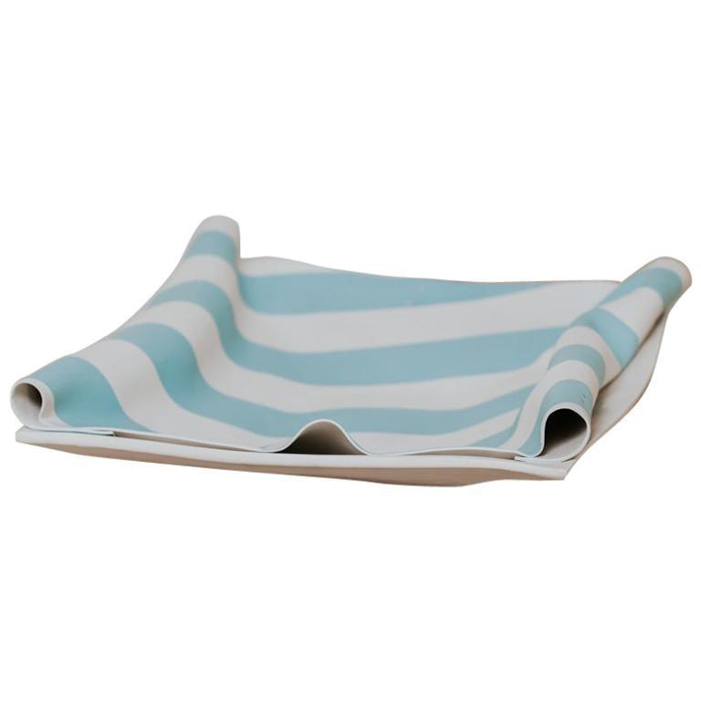 """20th Century Ceramic """"Cloth"""" Plate"""