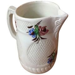 20th Century Ceramic Vase Hand Painted
