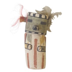 20th Century Childs Flat Back Kachina Doll, circa 1950-1960