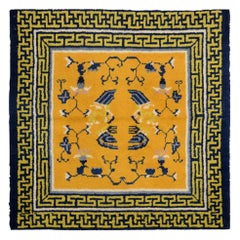 20th Century, China Wool Rug, Originality Design, circa 1930