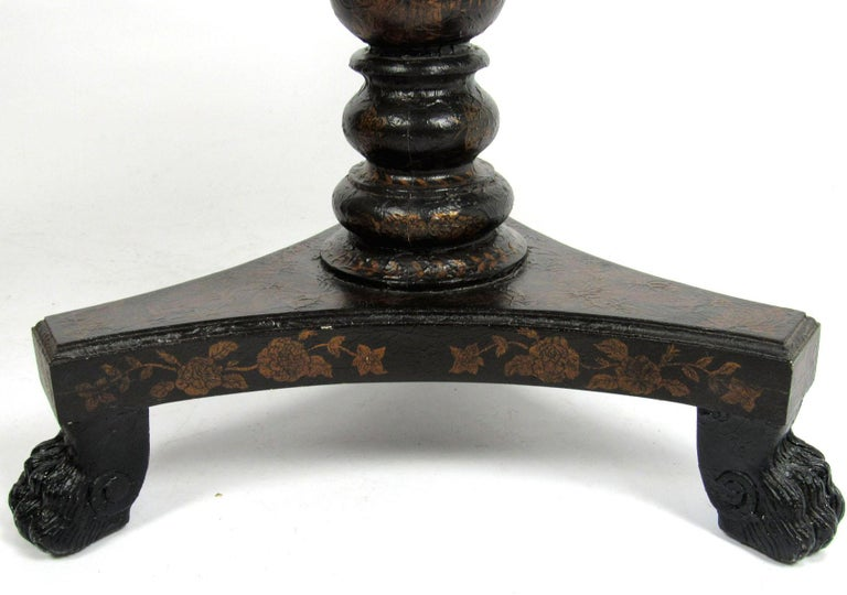 20th Century Chinoiserie Style Side Table For Sale 8