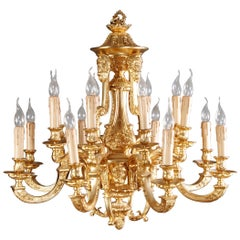 20th Century Classic French Chandelier in Louis Seize Style