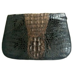20th Century Classic Two-Tone Crocodile Hanbag By. K.C.H.