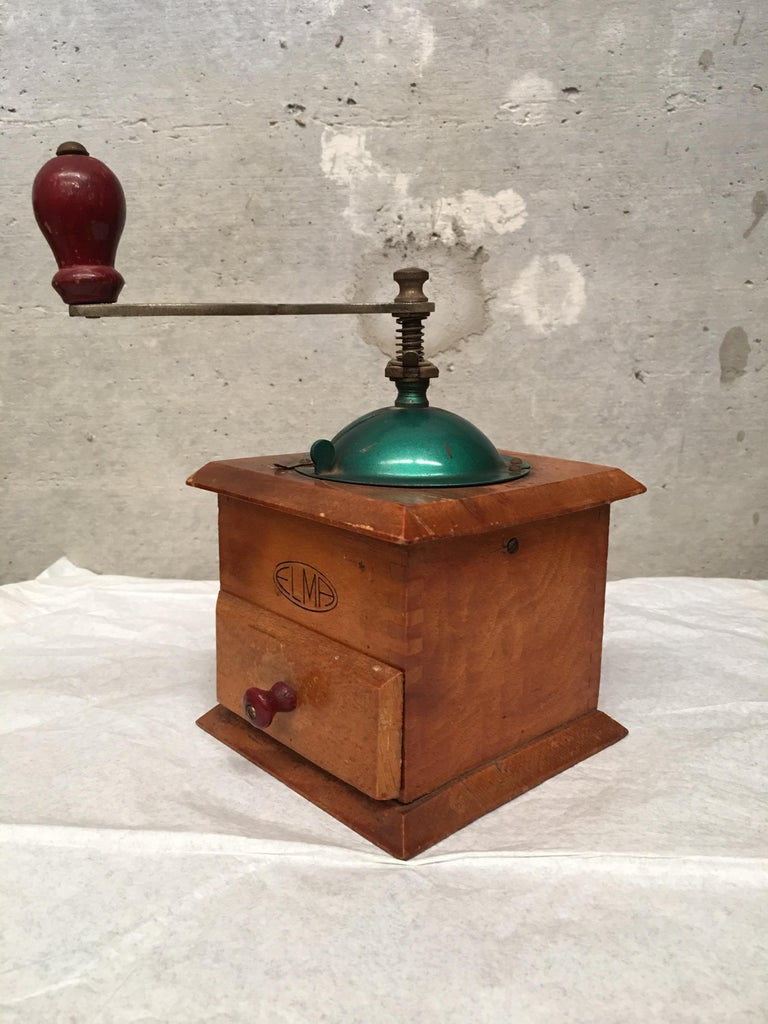 Victorian 20th Century Coffee Grinder, Spain For Sale