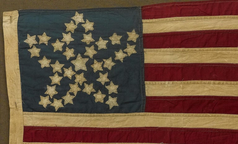 20th Century Commemorative 34-Star American Flag with
