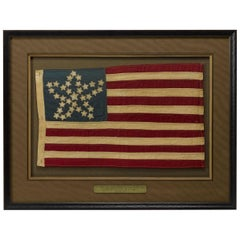 "20th Century Commemorative 34-Star American Flag with ""Great Star"" Pattern"