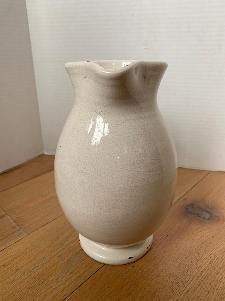 20th Century Creamware Jug / Pitcher with Applied Handle For Sale 3