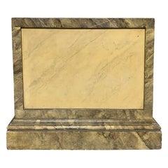 20th Century Custom Marbleized Pedestal