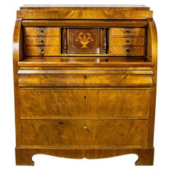 20th Century Cylindrical Secretary Desk