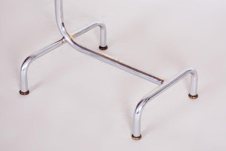 20th Century Czech Adjustable Bauhaus Table, Chrome, Mücke, Melder, 1930s For Sale 4