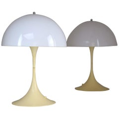 20th Century Danish Table Lamps by Verner Panton for Louis Poulsen, 1970s
