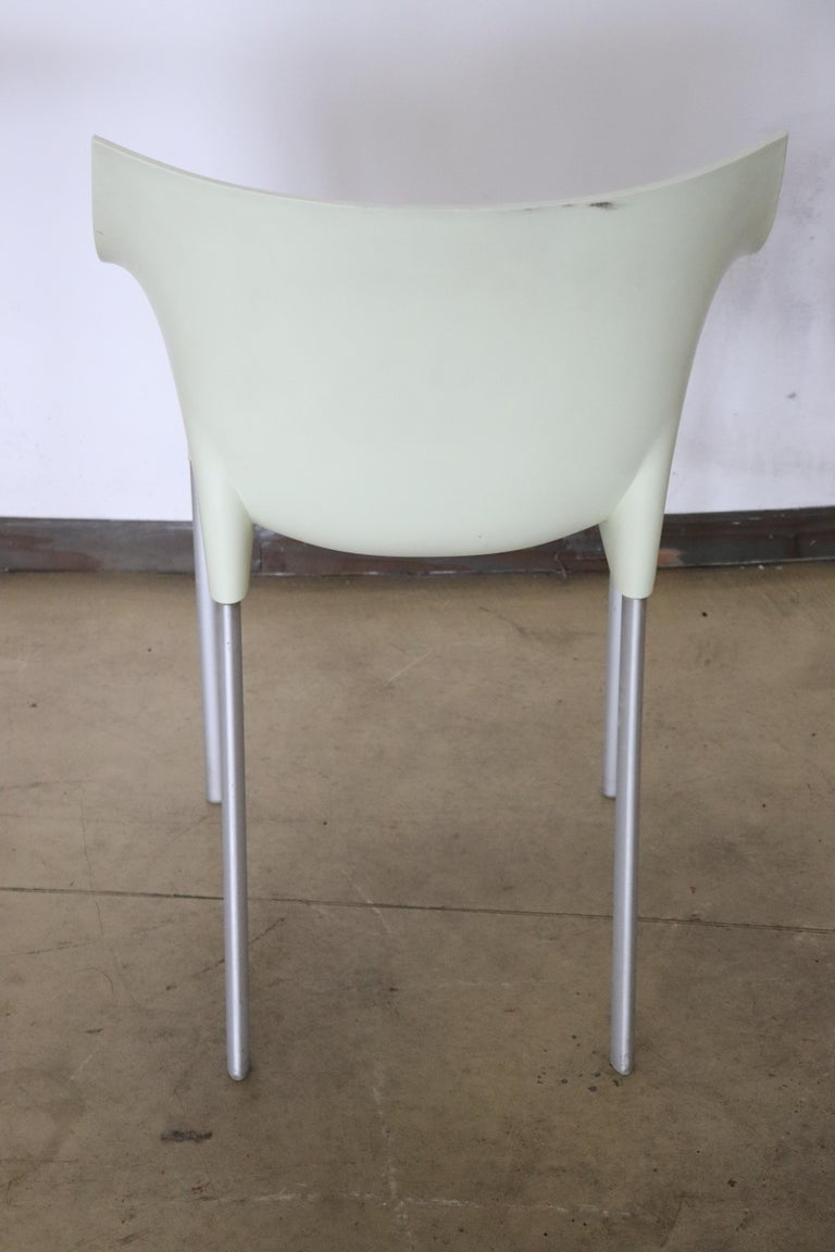 20th Century Design Table and Chairs by Philippe Starck for Kartell, 1990s For Sale 6
