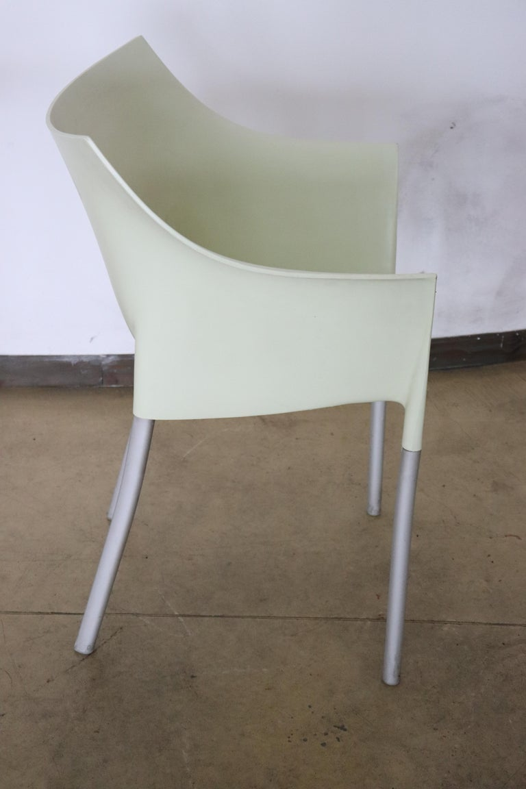 20th Century Design Table and Chairs by Philippe Starck for Kartell, 1990s For Sale 7