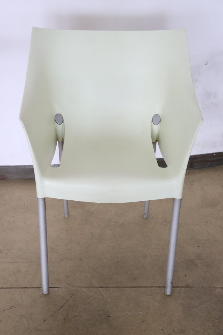 20th Century Design Table and Chairs by Philippe Starck for Kartell, 1990s For Sale 8