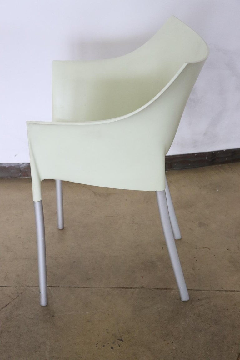 20th Century Design Table and Chairs by Philippe Starck for Kartell, 1990s For Sale 9