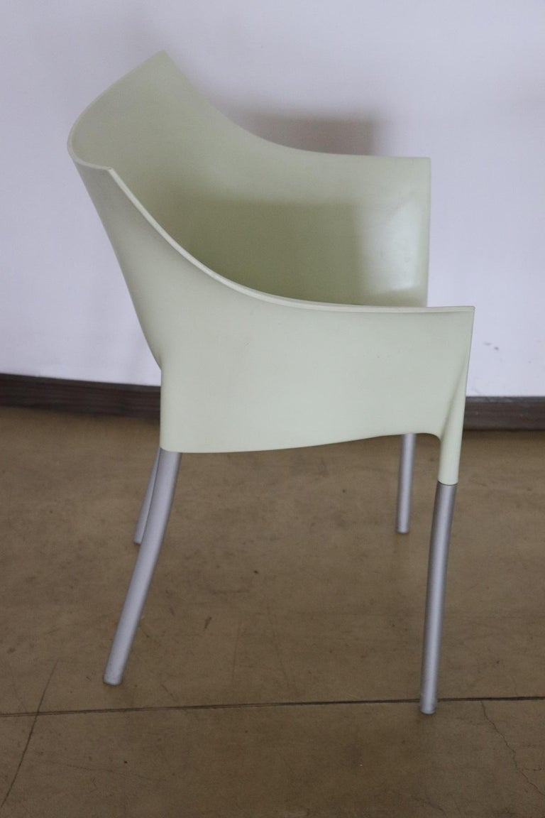 20th Century Design Table and Chairs by Philippe Starck for Kartell, 1990s For Sale 1