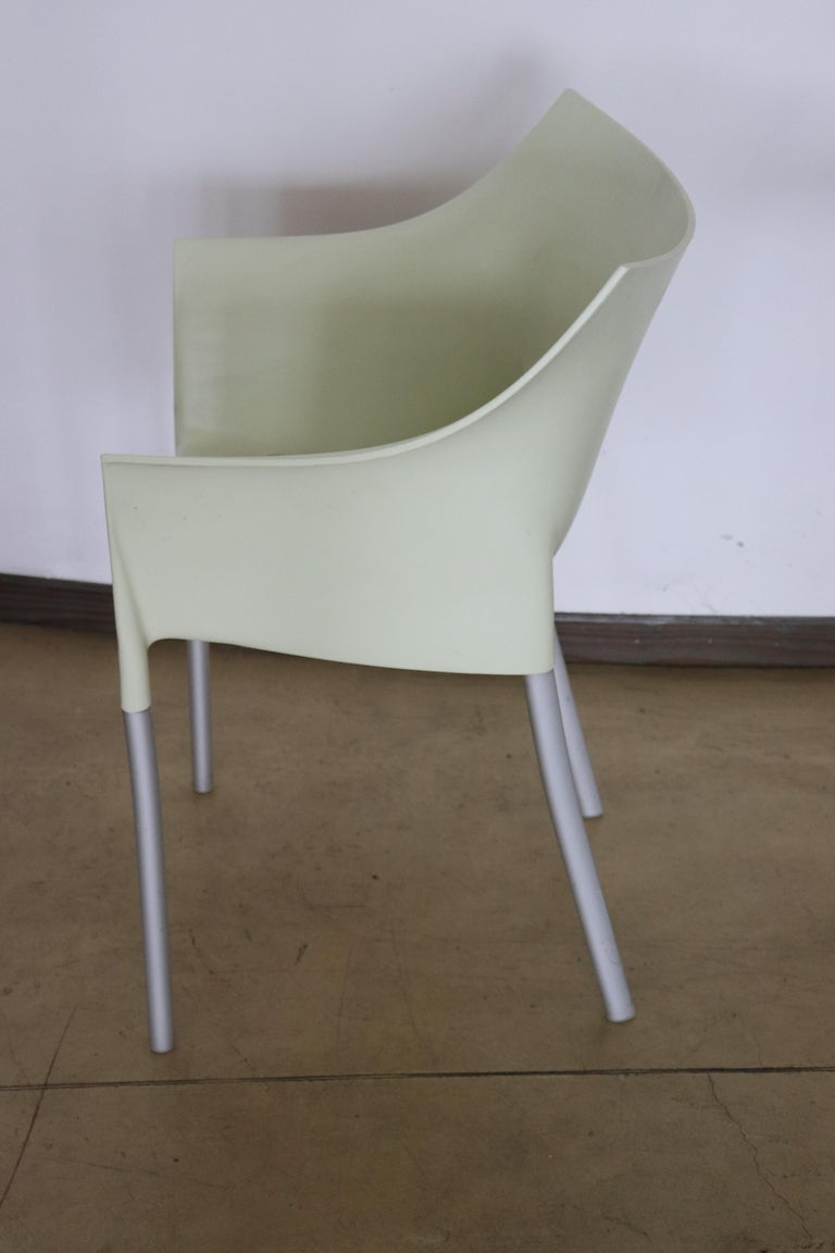 20th Century Design Table and Chairs by Philippe Starck for Kartell, 1990s For Sale 3
