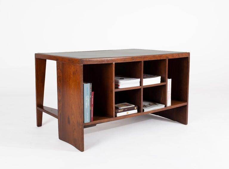 Mid-Century Modern Pierre Jeanneret Pigeon Hole Desk, Circa 1958 For Sale