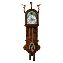 20th Century Dutch Wall Clock in the Staarta Type