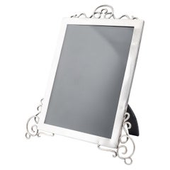 20th Century Edwardian Solid Silver Large Photo Frame, c.1905