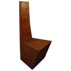 20th Century Elmwood Root Italian Sculpture Chair