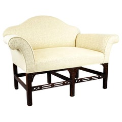 20th Century English Antique Georgian Style Sofa