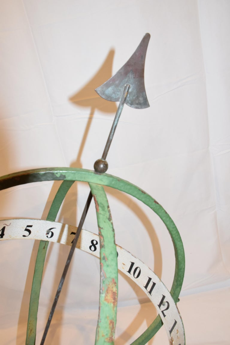 20th Century English Armillary Sphere For Sale 9