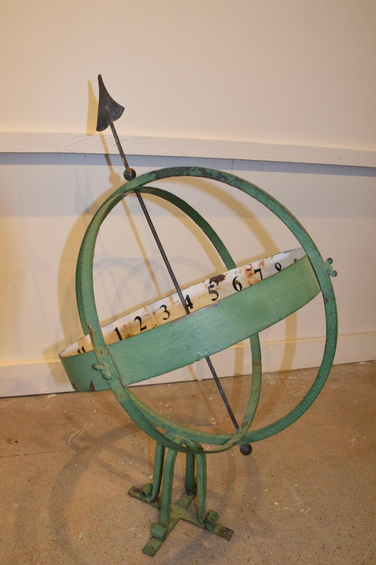 20th Century English Armillary Sphere In Good Condition For Sale In Houston, TX