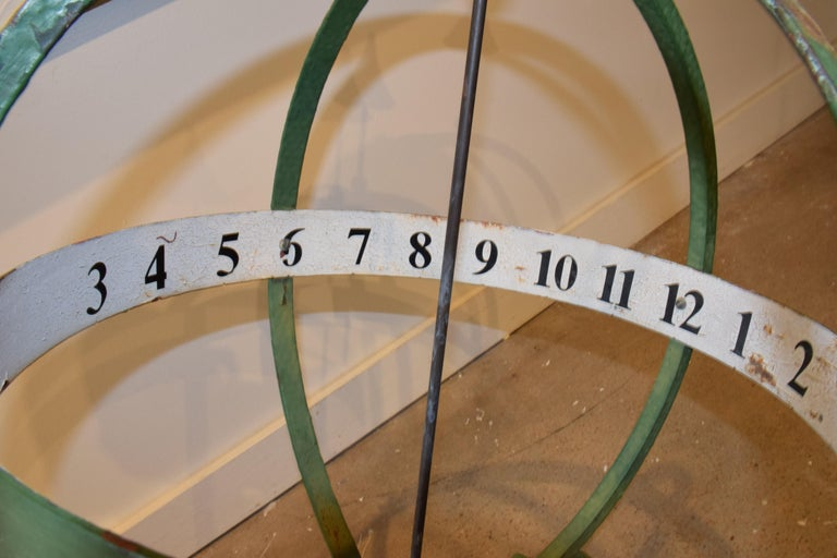 20th Century English Armillary Sphere For Sale 1