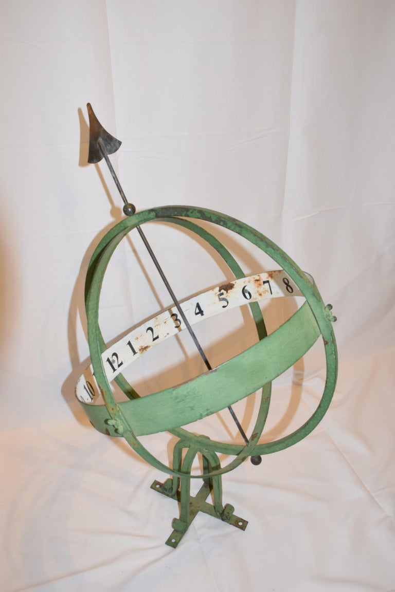 20th Century English Armillary Sphere For Sale 5
