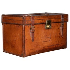 20th Century English Asprey Leather Documents Case, London circa 1910