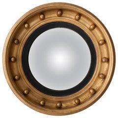 20th Century English Bull's Eye Mirror