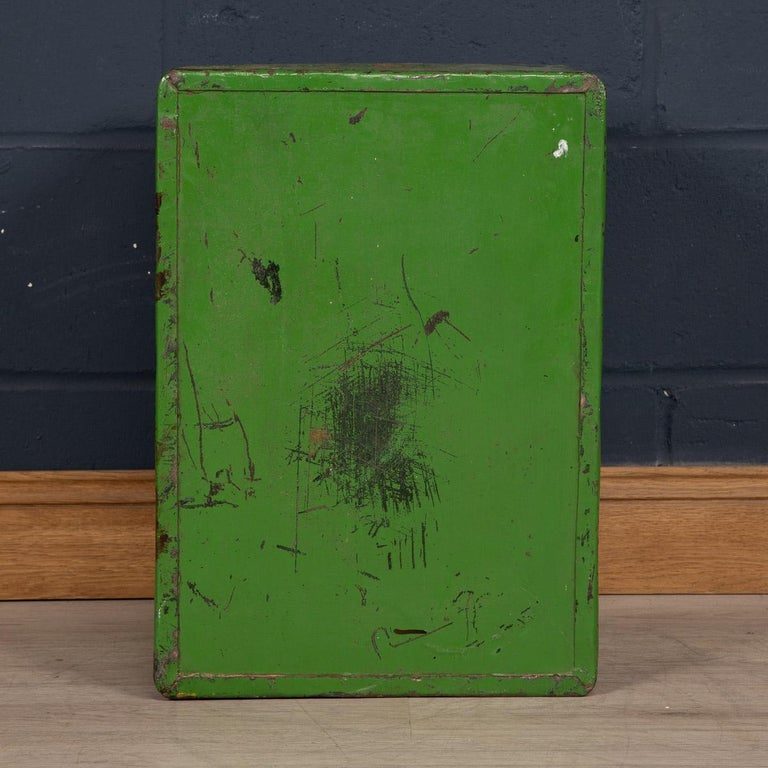 Iron 20th Century English Fire Proof Safe, circa 1930 For Sale