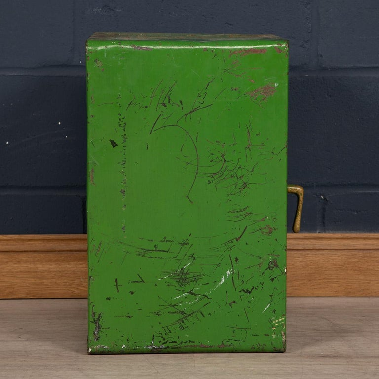 20th Century English Fire Proof Safe, circa 1930 For Sale 1