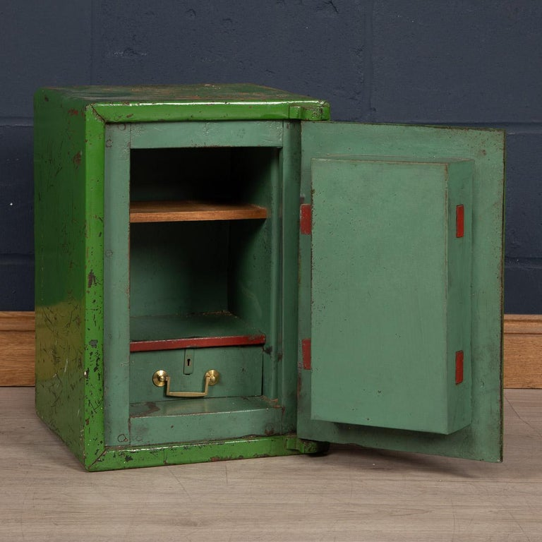 20th Century English Fire Proof Safe, circa 1930 For Sale 2