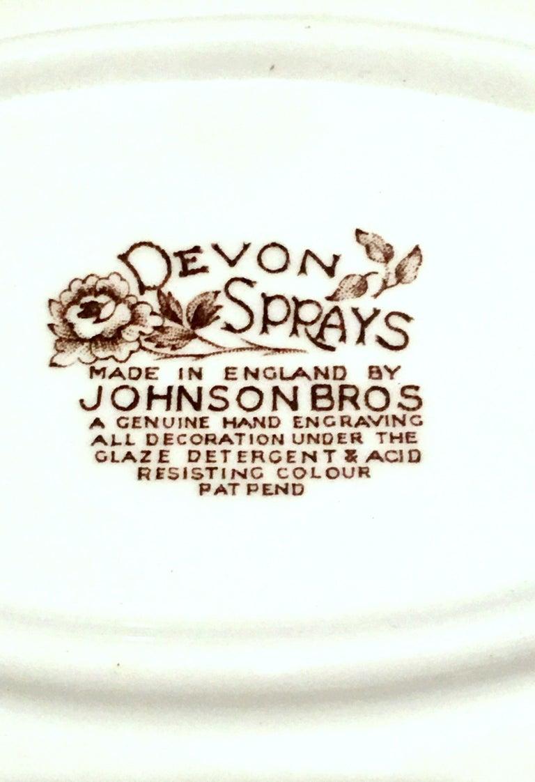 20th Century English Ironstone Dinnerware