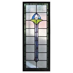 20th Century English Leaded Stained Glass Window