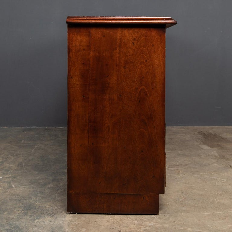 20th Century English Mahogany Fifteen Drawers Haberdashery, 1900s In Good Condition For Sale In London, London