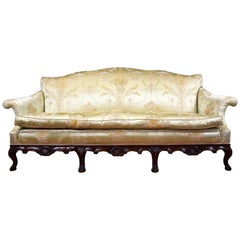 20th Century English Queen Anne Style Sofa