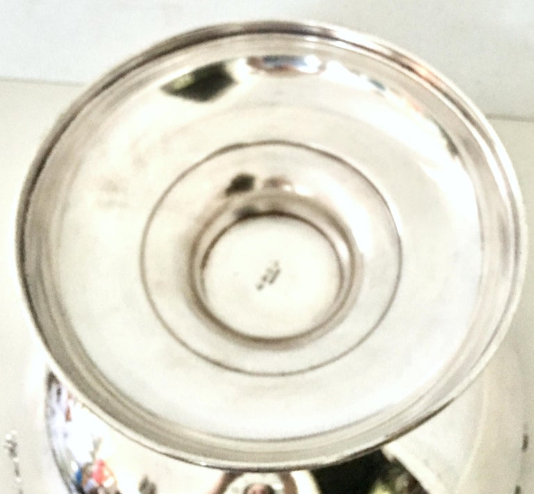 20th Century English Sheffield Silver Plate Punch Bowl By, Sheffield For Sale 7