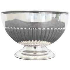 20th Century English Silver City of Sheffield Edward VII Bowl, 1903s