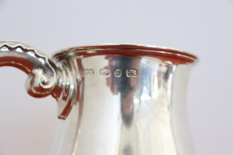 20th Century English Sterling Silver 925 Tankard by Elkington & Co, 1902 For Sale 1